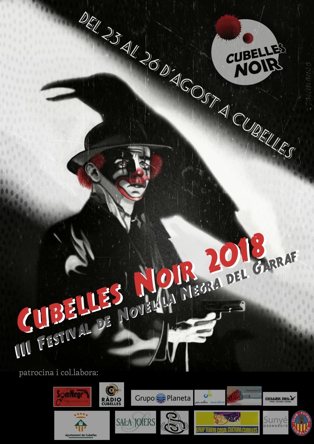 Cartell Cubelles Noir 2018