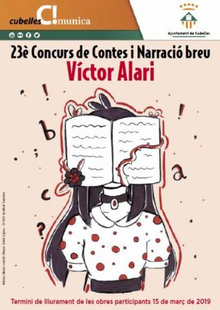 cartell-23e-concurs-de-contes-victor-alari-2019-redim-w450-h450